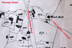Map showing location of felgate Fuller