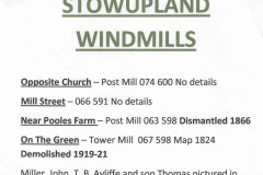 stowupland-mills-locations